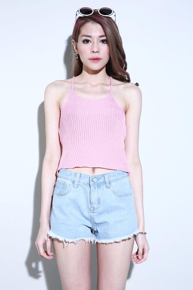 (BACKORDER) Camdin Knit Singlet in Pink