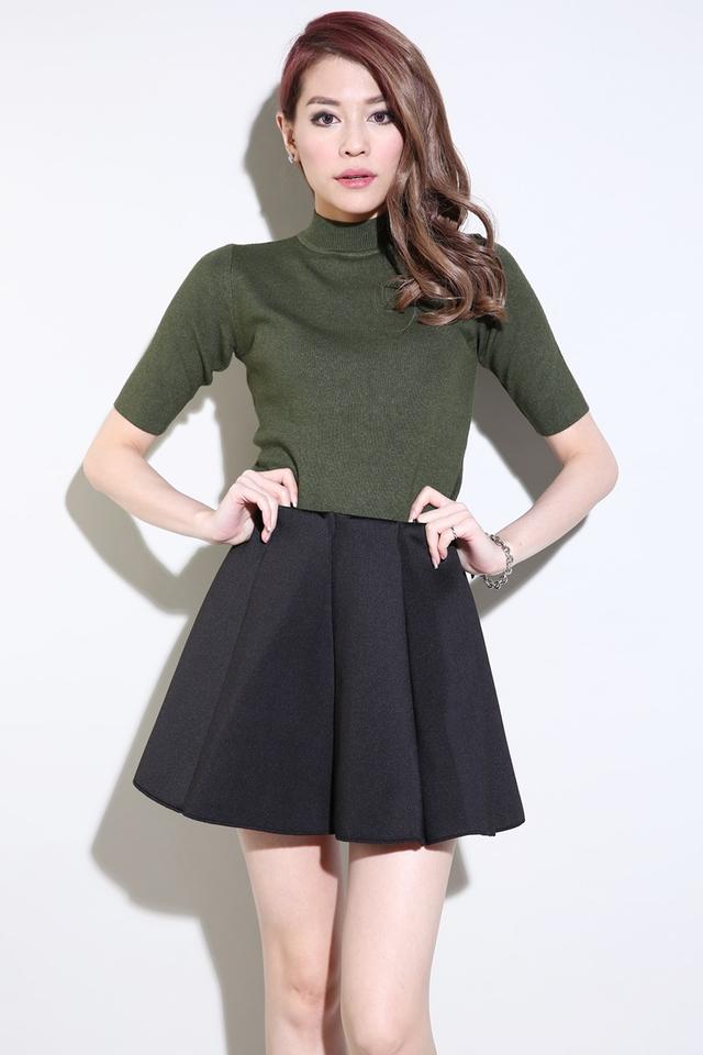(BACKORDER) Isla Skirt in Black