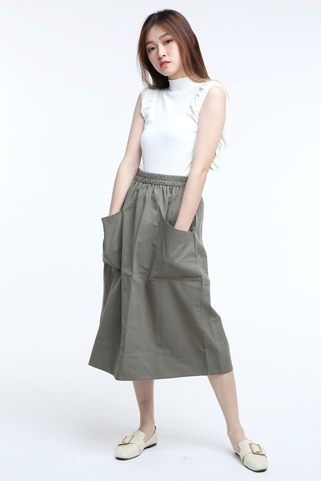 BACKORDER-ORZO KNIT TOP IN WHITE