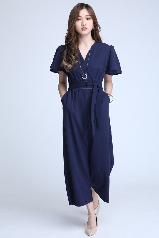 PREORDER - HALEY JUMPSUIT IN NAVY