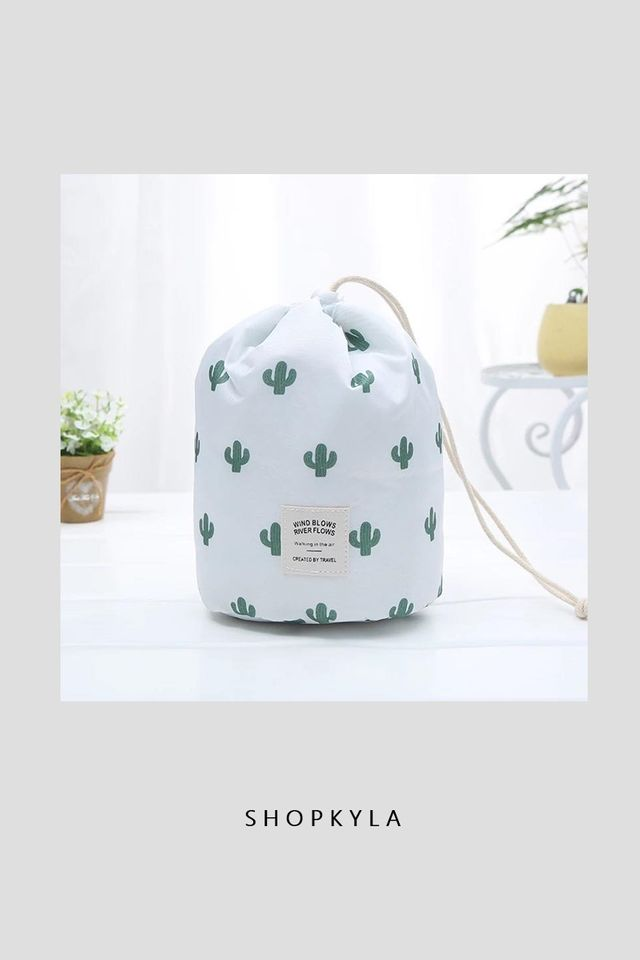 IN STOCK - ICONIC TRAVEL POUCH (PRINTED)