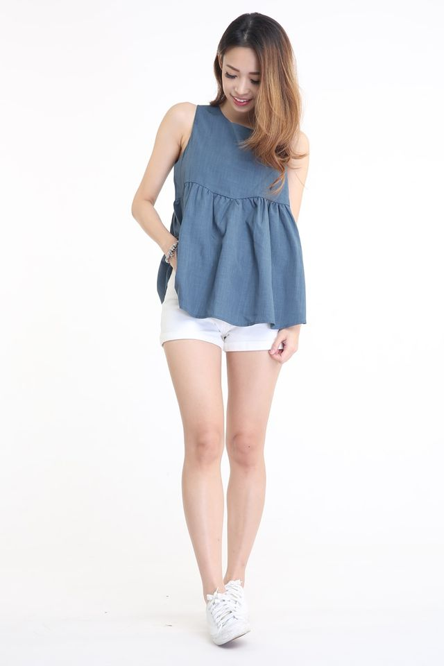 IN STOCK  -CLAIRE BABYDOLL TOP
