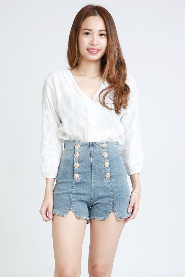 IN STOCK - MELVALINE HIGH WAIST JEANS PANTS