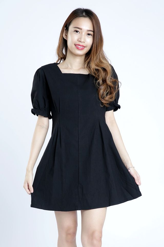 SG IN STOCK - MATTHEW DRESS IN BLACK