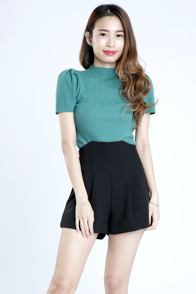 SG IN STOCK - CHLOE KNIT TOP IN GREEN