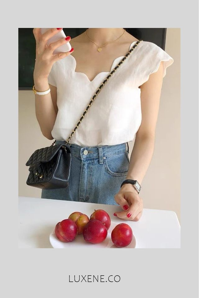 PREORDER - L014 TOP IN WHITE