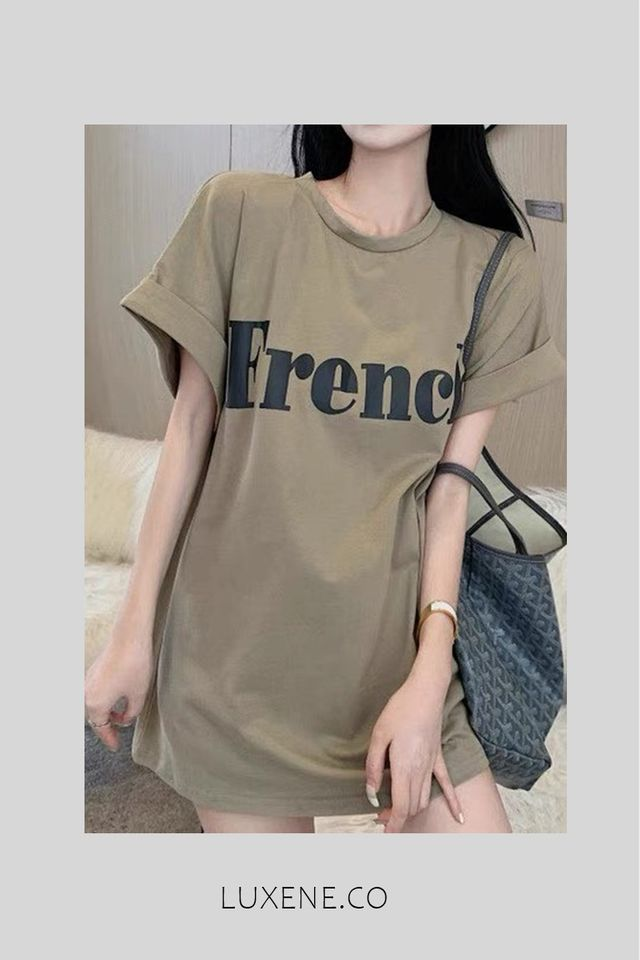PREORDER - L0120 FRENCH TOP TEE