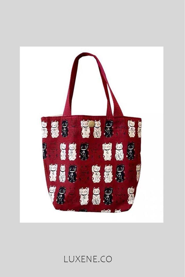 PREORDER - L0182 TOP HANDLE BAG (CAT)