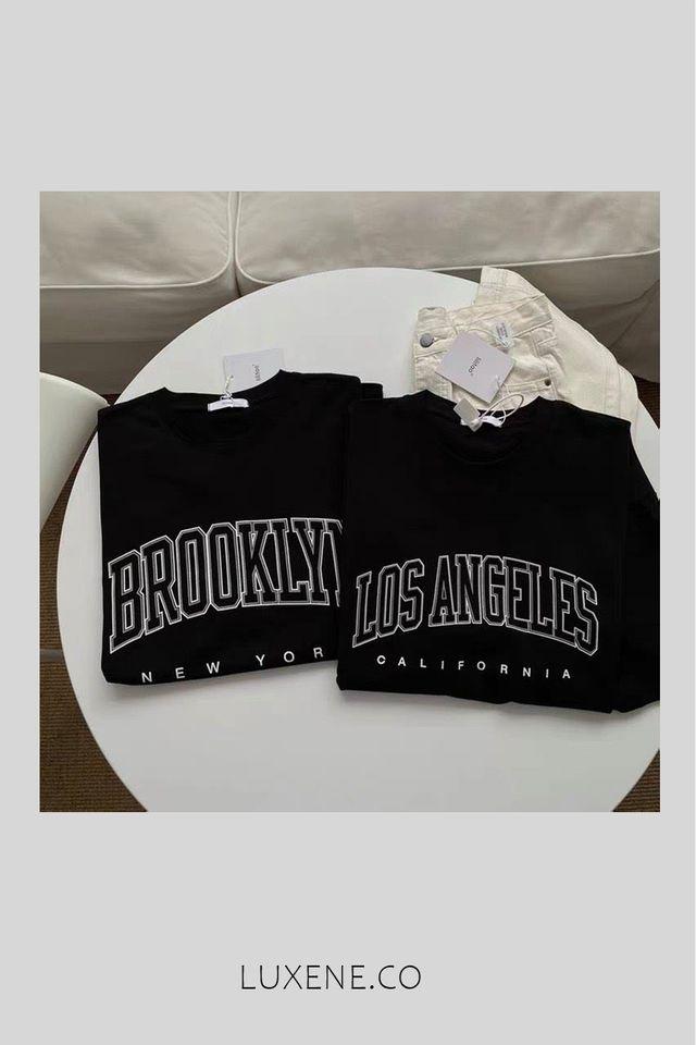 PREORDER - L0275 LOS ANGELAS/ BROOKLYN T SHIRT / UNISEX