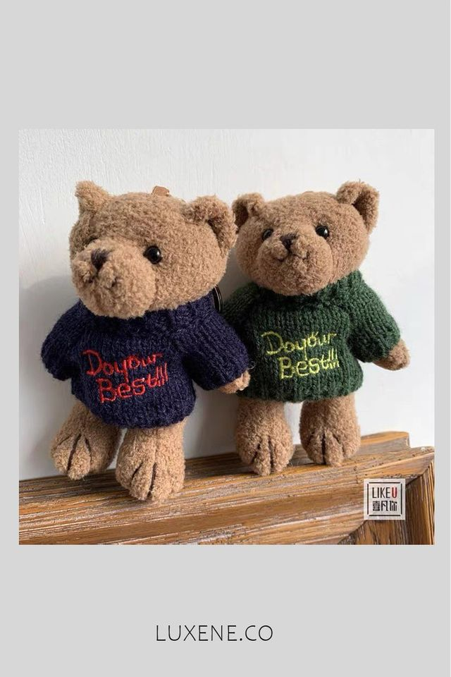 PREORDER - L0312 BEAR KEYCHAIN / BAG HANGING ACCESSORIES