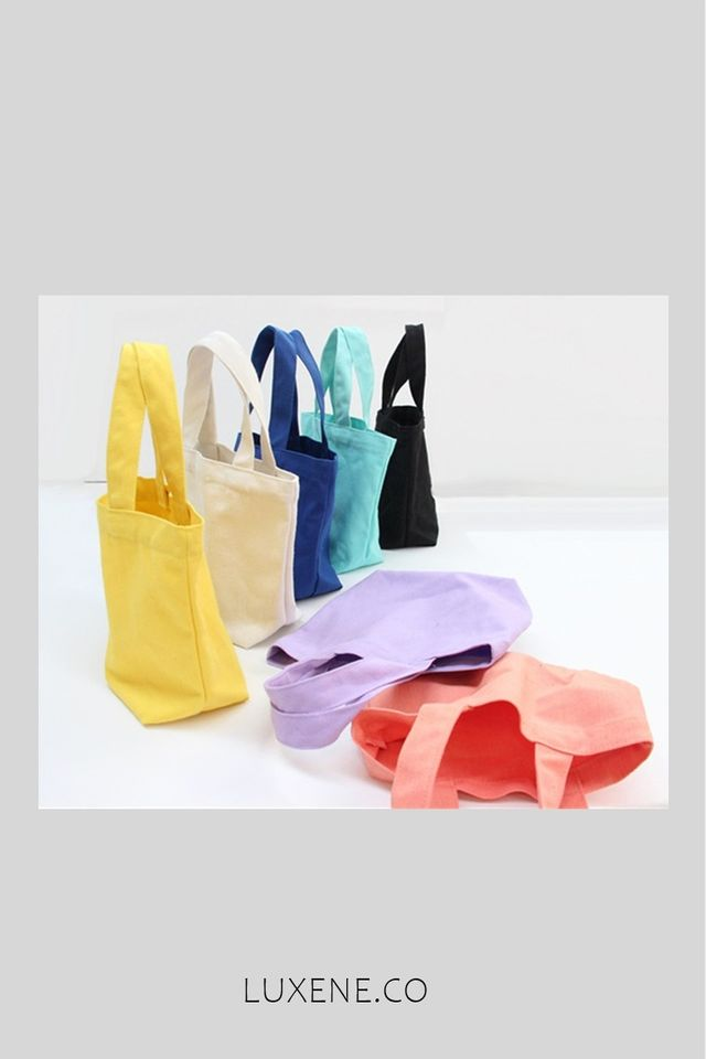 PREORDER - L0326 SMALL HAND BAG SOLID COLOUR