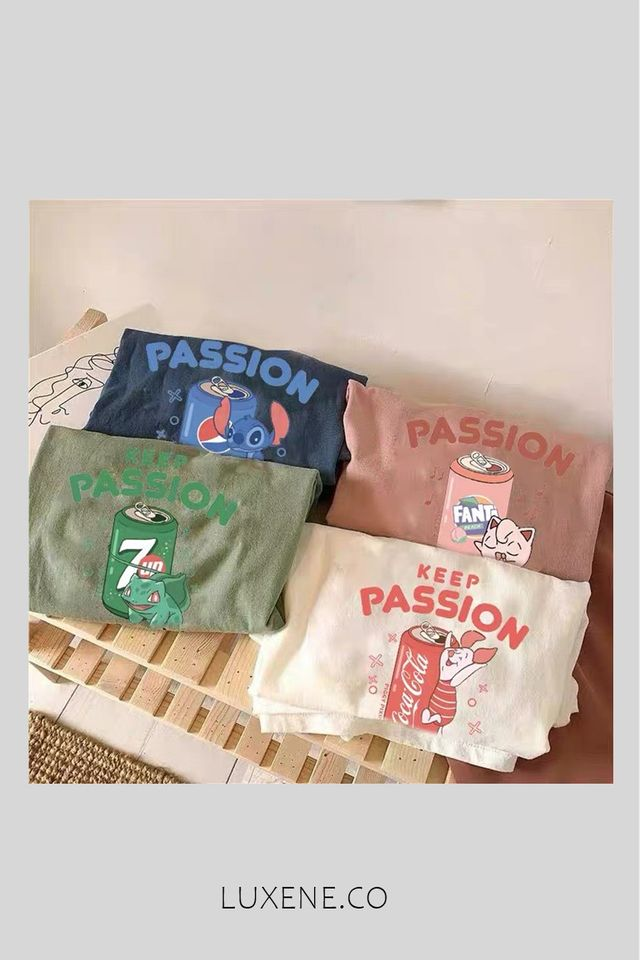 PREORDER - L0322 KEEP PASSION TEE