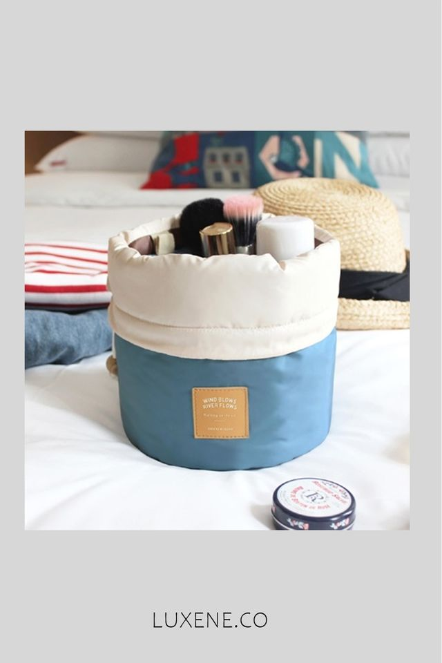 MSIA READY STOCK -  ICONIC TRAVEL POUCH (BLUE)