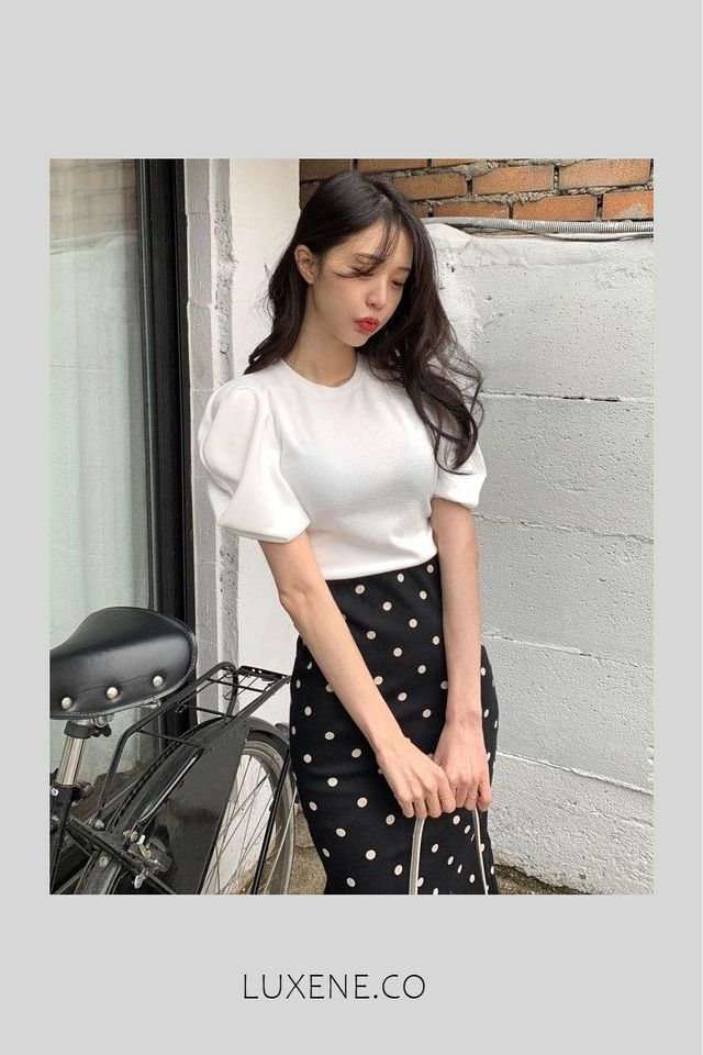 PREORDER - L0460 PUFFY BLOUSE